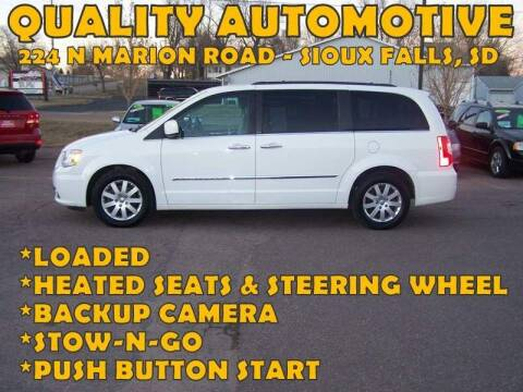 2012 Chrysler Town and Country for sale at Quality Automotive in Sioux Falls SD