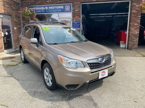 2015 Subaru Forester for sale at Michaels Motor Sales INC in Lawrence MA