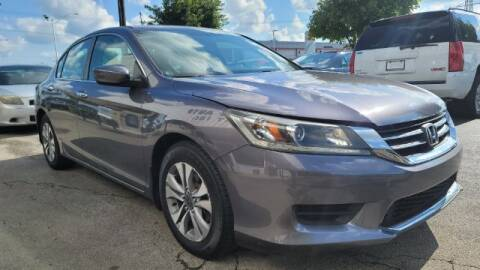 2014 Honda Accord for sale at Tri City Auto Mart in Lexington KY