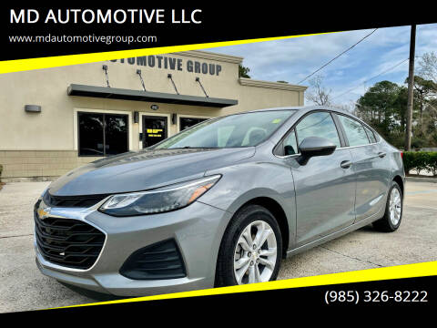 2019 Chevrolet Cruze for sale at MD AUTOMOTIVE LLC in Slidell LA