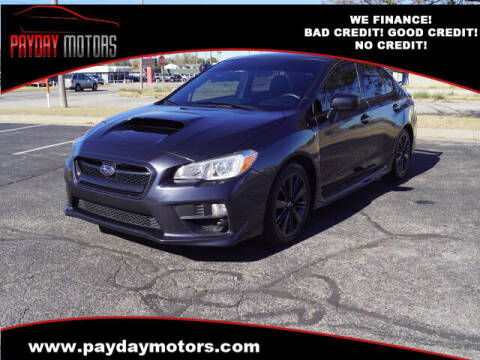 2015 Subaru WRX for sale at Payday Motors in Wichita And Topeka KS
