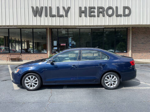 2014 Volkswagen Jetta for sale at Willy Herold Automotive in Columbus GA