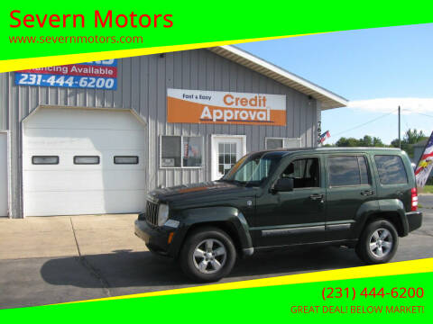 2011 Jeep Liberty for sale at Severn Motors in Cadillac MI