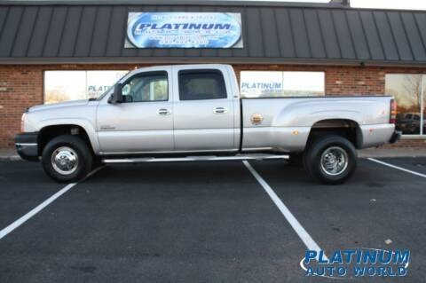 2006 Chevrolet Silverado 3500 for sale at Platinum Auto World in Fredericksburg VA