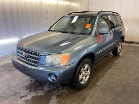 2003 Toyota Highlander for sale at Doug Dawson Motor Sales in Mount Sterling KY