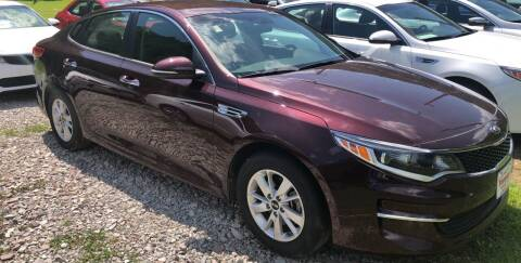 2018 Kia Optima for sale at Tommy's Auto Sales in Inez KY