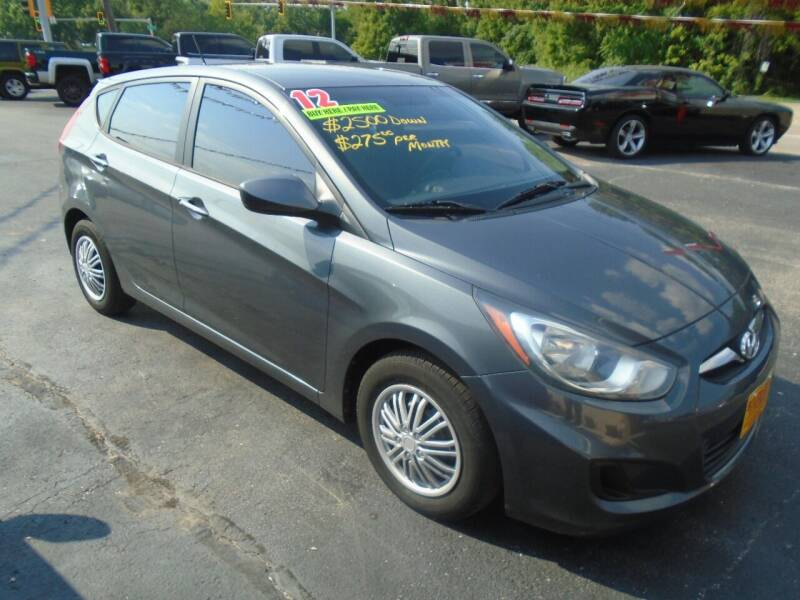 2012 Hyundai Accent for sale at River City Auto Sales in Cottage Hills IL