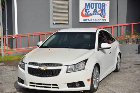 2012 Chevrolet Cruze for sale at Motor Car Concepts II - Kirkman Location in Orlando FL
