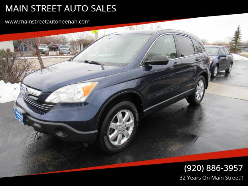 2008 Honda CR-V for sale at MAIN STREET AUTO SALES in Neenah WI
