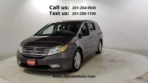 2013 Honda Odyssey for sale at NJ State Auto Used Cars in Jersey City NJ