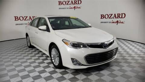 2014 Toyota Avalon Hybrid for sale at BOZARD FORD in Saint Augustine FL