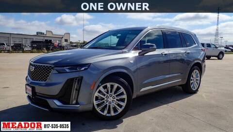 2020 Cadillac XT6 for sale at Meador Dodge Chrysler Jeep RAM in Fort Worth TX