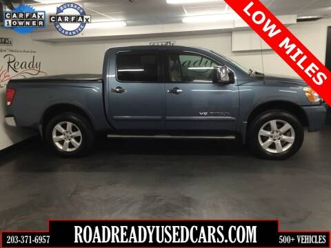 2010 Nissan Titan for sale at Road Ready Used Cars in Ansonia CT