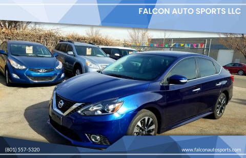 2019 Nissan Sentra for sale at Falcon Auto Sports LLC in Murray UT