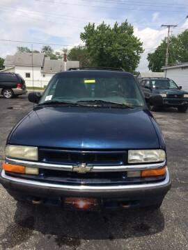 2001 Chevrolet Blazer for sale at Mike Hunter Auto Sales in Terre Haute IN
