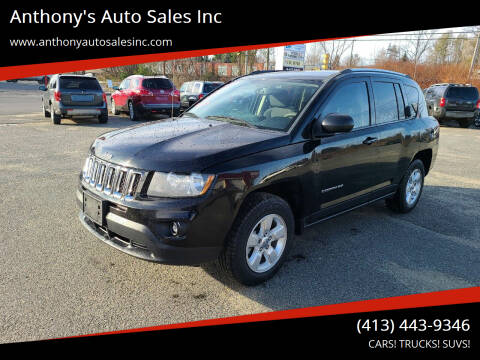 2014 Jeep Compass for sale at Anthony's Auto Sales Inc in Pittsfield MA