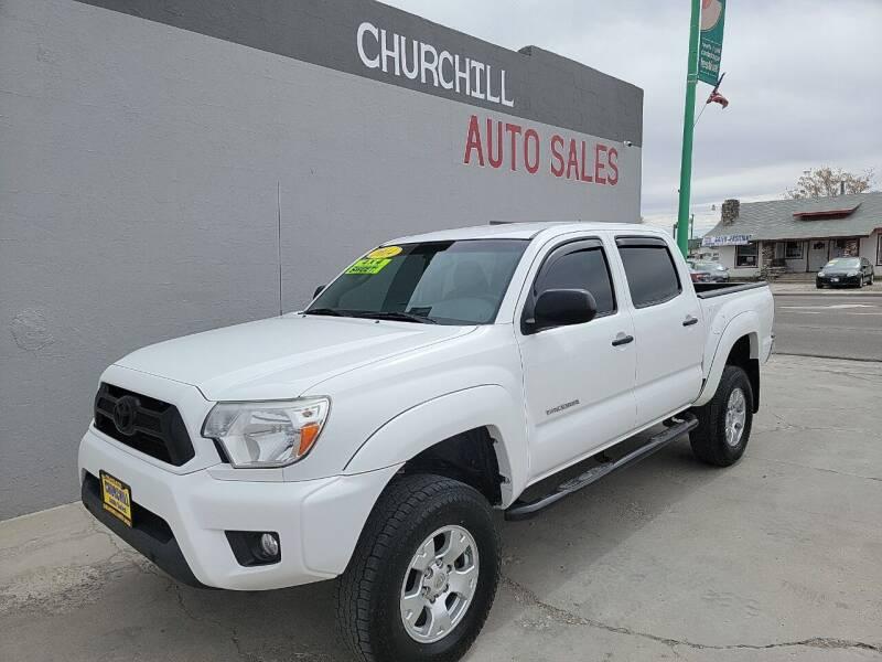 2014 Toyota Tacoma for sale at CHURCHILL AUTO SALES in Fallon NV