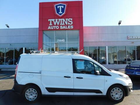 2017 Ford Transit Connect Cargo for sale at Twins Auto Sales Inc Redford 1 in Redford MI