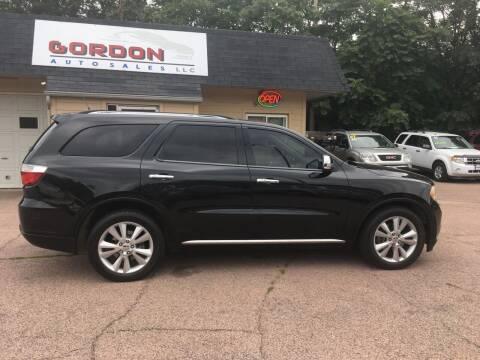 2011 Dodge Durango for sale at Gordon Auto Sales LLC in Sioux City IA