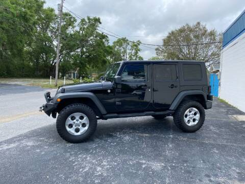 2010 Jeep Wrangler Unlimited for sale at INTERSTATE AUTO SALES in Pensacola FL