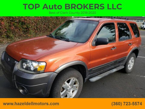 2006 Ford Escape for sale at TOP Auto BROKERS LLC in Vancouver WA
