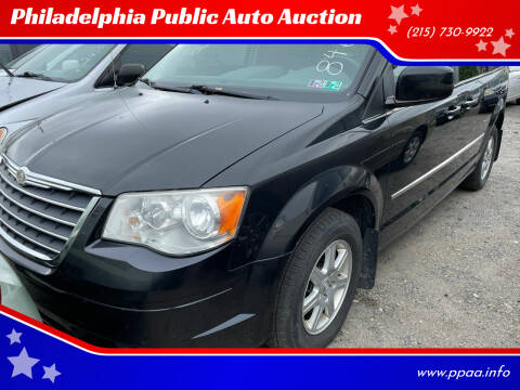 2010 Chrysler Town and Country for sale at Philadelphia Public Auto Auction in Philadelphia PA