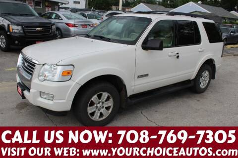 2008 Ford Explorer for sale at Your Choice Autos in Posen IL
