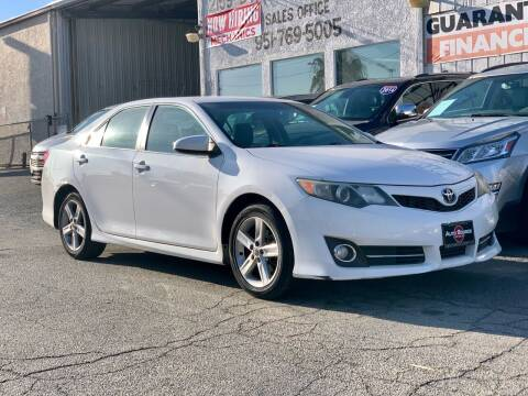 2013 Toyota Camry for sale at Auto Source in Banning CA