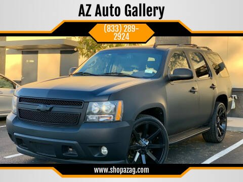 2009 Chevrolet Tahoe for sale at AZ Auto Gallery in Mesa AZ
