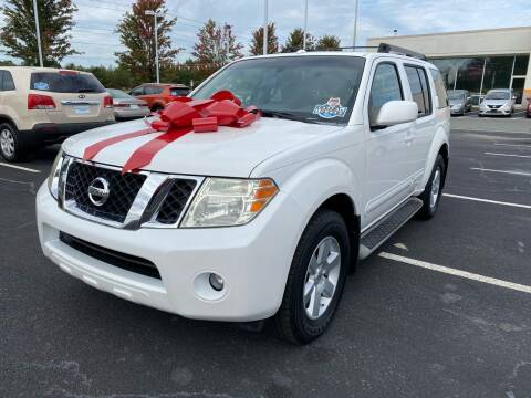 2008 Nissan Pathfinder for sale at Charlotte Auto Group, Inc in Monroe NC