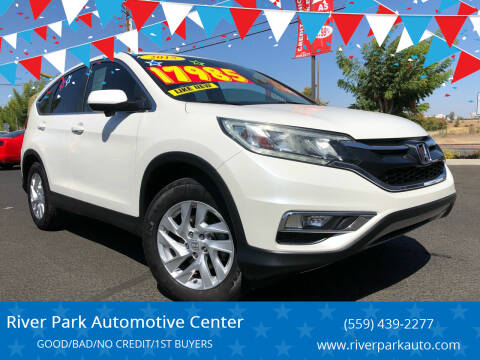 2015 Honda CR-V for sale at River Park Automotive Center in Fresno CA