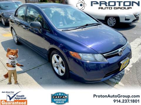 2008 Honda Civic for sale at Proton Auto Group in Yonkers NY