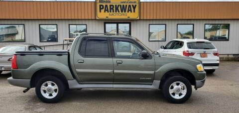 2001 Ford Explorer Sport Trac for sale at Parkway Motors in Springfield IL