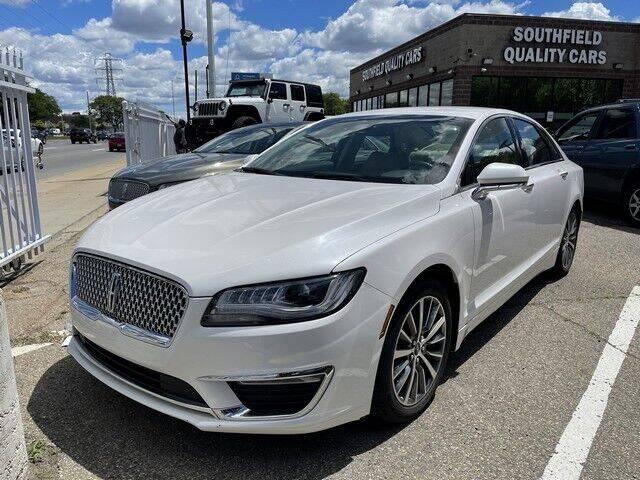 2017 Lincoln MKZ for sale in Detroit, MI