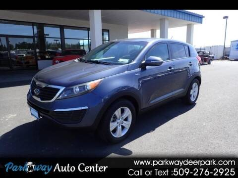 2012 Kia Sportage for sale at PARKWAY AUTO CENTER AND RV in Deer Park WA