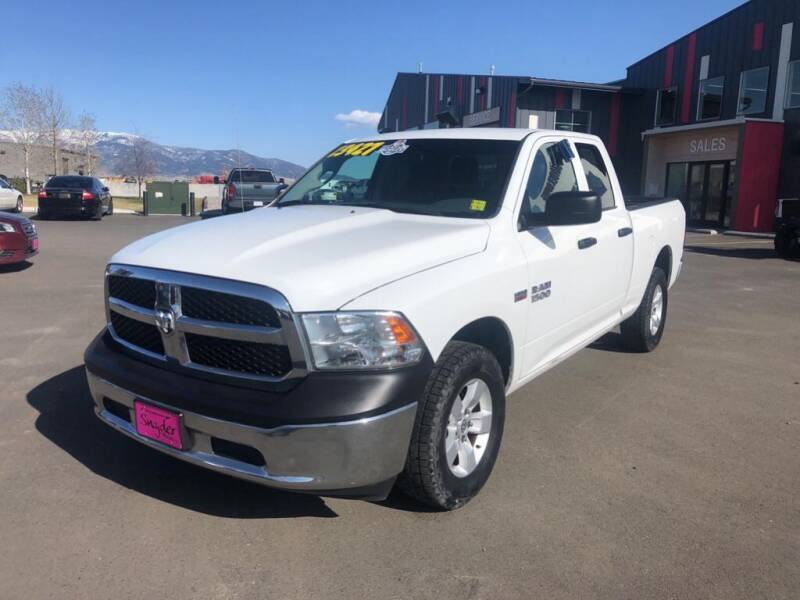 2015 RAM Ram Pickup 1500 for sale at Snyder Motors Inc in Bozeman MT