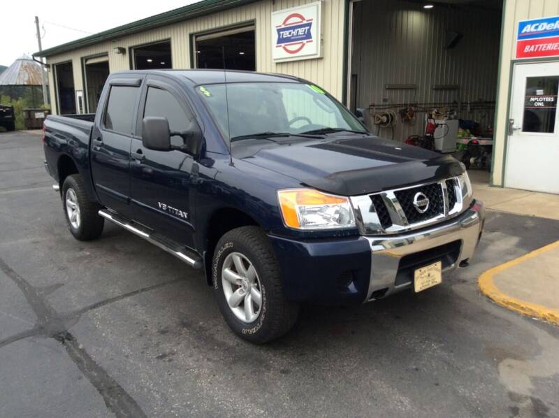2010 Nissan Titan for sale at TRI-STATE AUTO OUTLET CORP in Hokah MN
