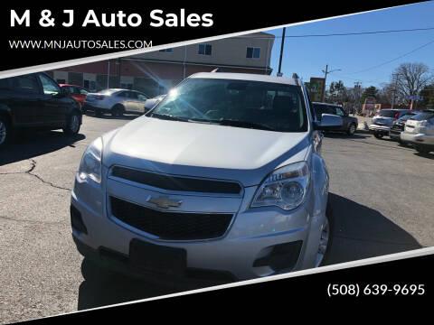 2015 Chevrolet Equinox for sale at M & J Auto Sales in Attleboro MA