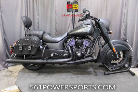 2019 Indian Chief® Dark Horse® ABS for sale at Powersports of Palm Beach in Hollywood FL