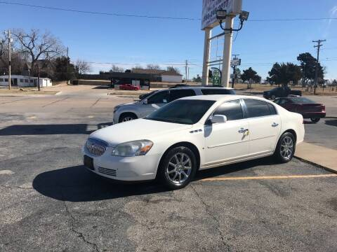 2008 Buick Lucerne for sale at Patriot Auto Sales in Lawton OK