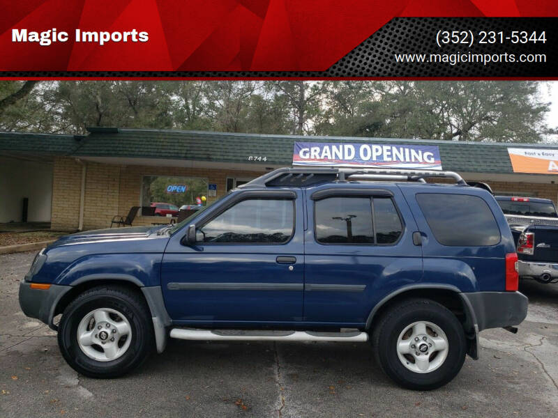 2002 Nissan Xterra for sale at Magic Imports in Melrose FL