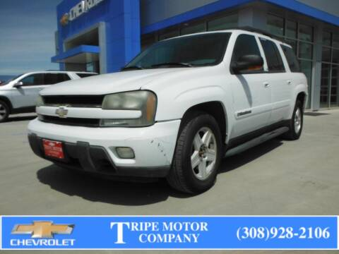 2002 Chevrolet TrailBlazer for sale at Tripe Motor Company in Alma NE