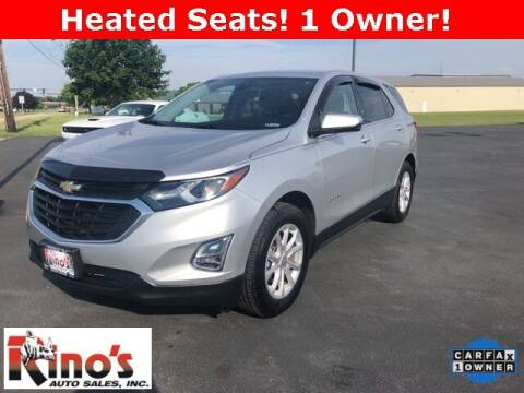 2019 Chevrolet Equinox for sale at Rino's Auto Sales in Celina OH