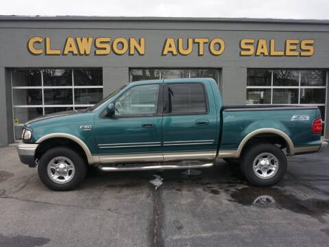 2001 Ford F-150 for sale at Clawson Auto Sales in Clawson MI