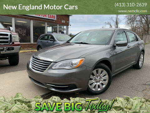2013 Chrysler 200 for sale at New England Motor Cars in Springfield MA
