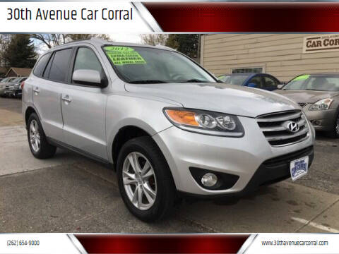 2012 Hyundai Santa Fe for sale at 30th Avenue Car Corral in Kenosha WI