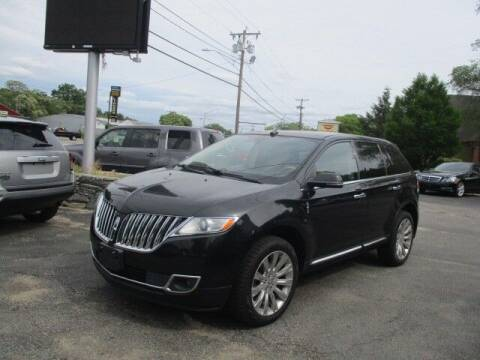 2015 Lincoln MKX for sale at Mill Street Motors in Worcester MA