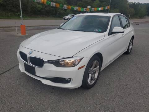 2015 BMW 3 Series for sale at Mulligan's Auto Exchange LLC in Paxinos PA