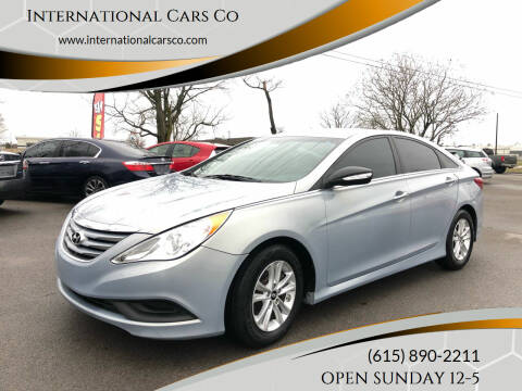 2014 Hyundai Sonata for sale at International Cars Co in Murfreesboro TN