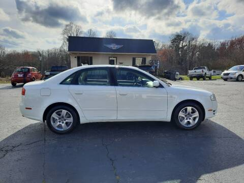 2006 Audi A4 for sale at G AND J MOTORS in Elkin NC